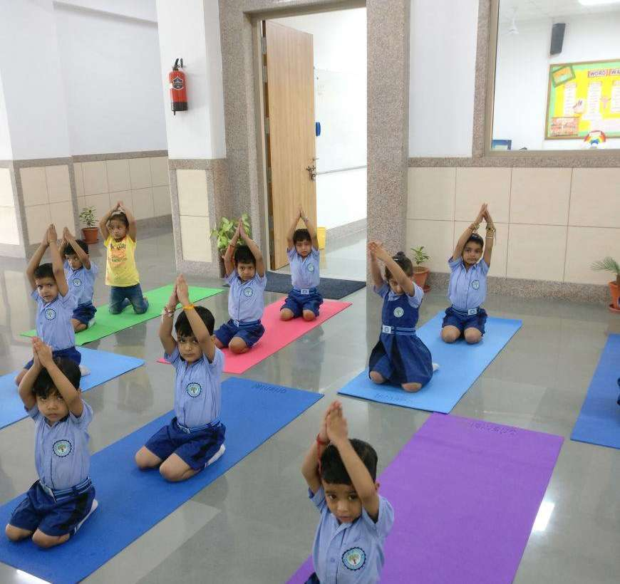 Baby Yoga at Step Up School
