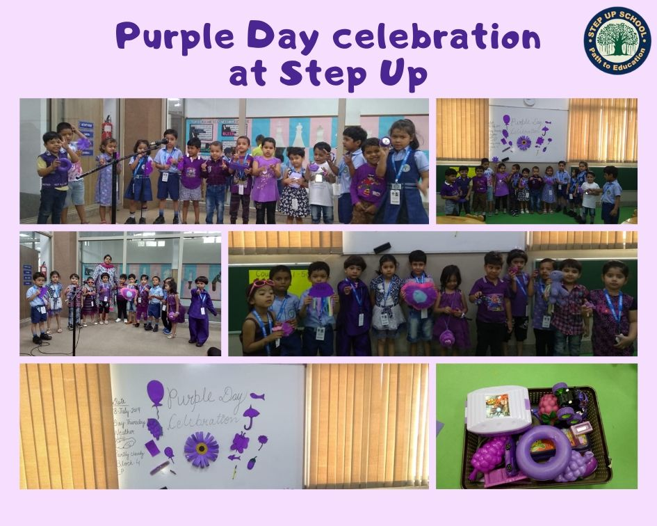 Purple Day celebrated in Step Up School