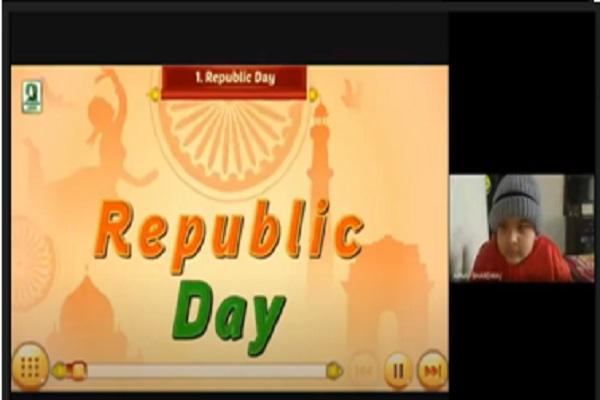 Virtual Republik Day Celebrations